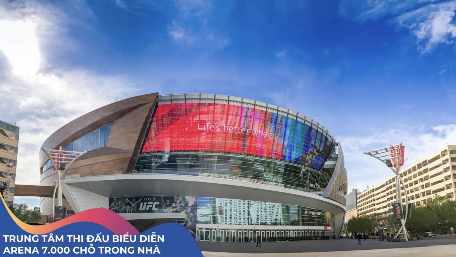 trung tâm giải trí arena novaworld phan thiết