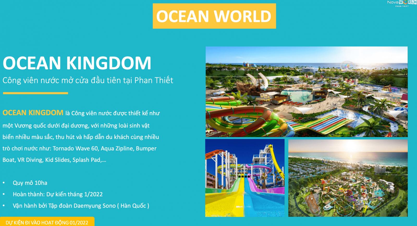 ocean kingdom tại novaworld phan thiết